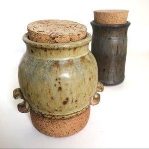 Bodil Studio Pottery Stoneware Jars with Lids